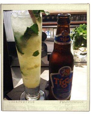 בירה טייגר וקוקטיילים בלונדון