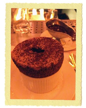 מוס שוקולד בבלתזר בלונדון