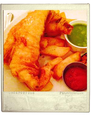 מסעדה פיש אנד צ'יפס לונדון bonnie gul seafood shack