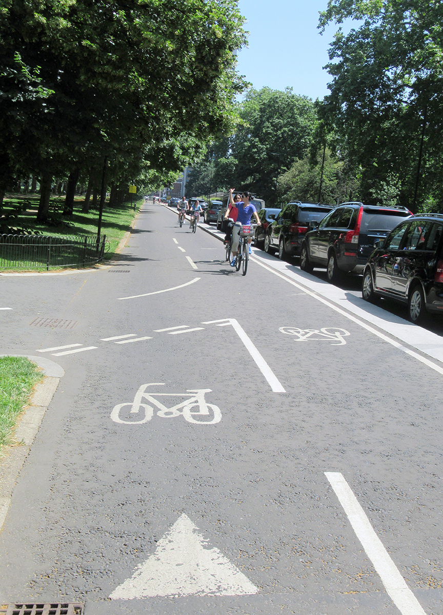 Hyde Park cycling