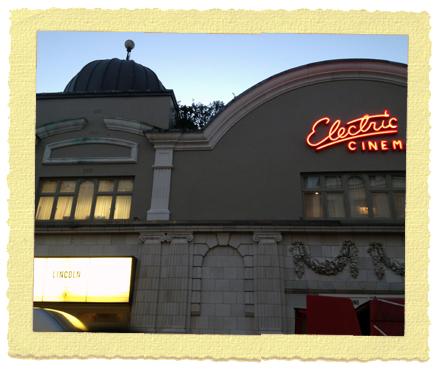 קולנוע בחול - האלקטריק בלונדון