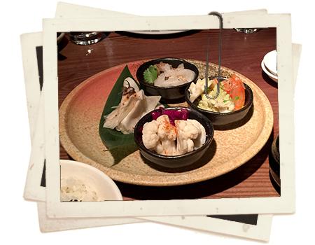 מסעדת פלש אנד באנס - אוכל יפני עם טוויסט קוריאני