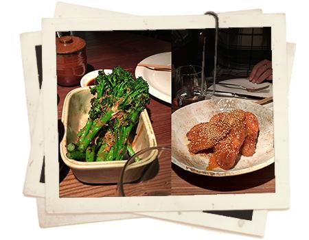 אוכל יפני עם לחמניות בלונדון