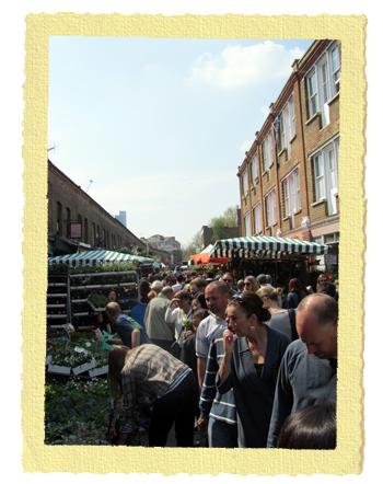 שוק הפרחים של הקני במזרח לונדון