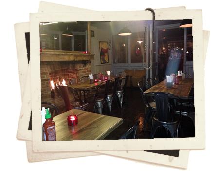 מסעדה ובר במזרח לונדון