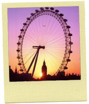 London Eye  לונדון עם הילדים