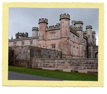 Lowther Castle בקנבריה שבאנגליה