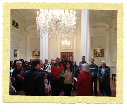 סיור מודרך ב-Mansion House בלונדון