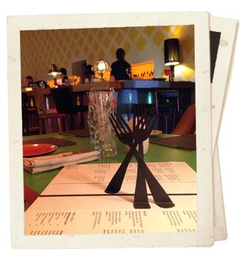 הבר של sketch מסעדה בלונדון