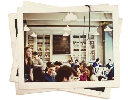 Aubaine מסעדה בית קפה צרפתי בלונדון