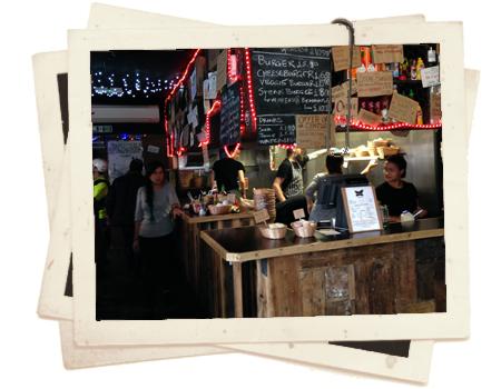 אוכלים במרליבון בלונדון - מסעדת המבורגרים