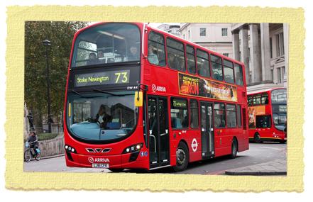 אוטובוס קומותיים בלונדון