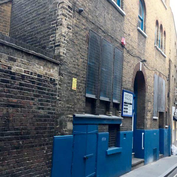 סיור הסטוריה יהודית ובתי כנסת באיסט טנד של לונדון