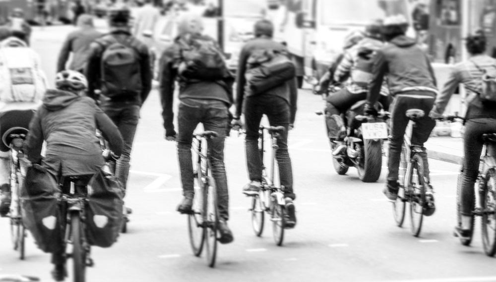 אופניים בסיטי של לונדון